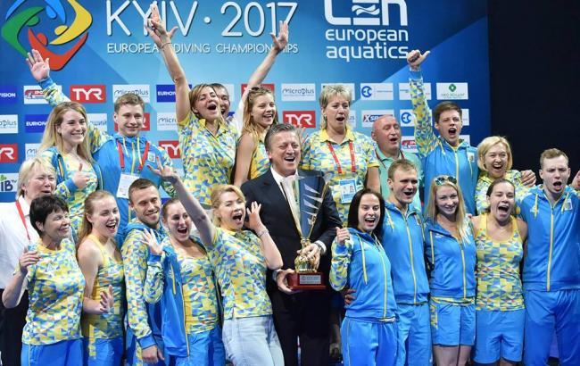 Фото: сборная Украины по прыжкам в воду (noc-ukr.org)