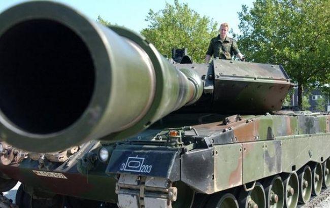 Фото: Німеччина направить у Литву танки Leopard 2