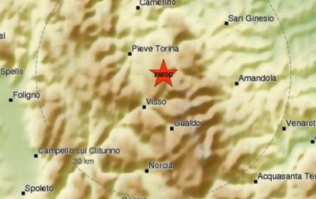 Фото: епіцентр землетрусу