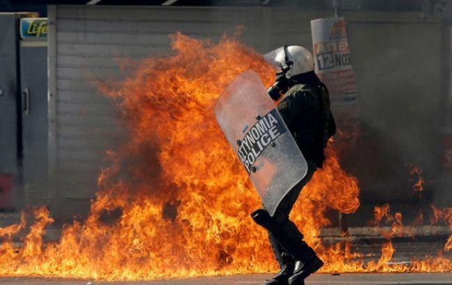 Фото: заворушення в Греції (kathimerini.gr)