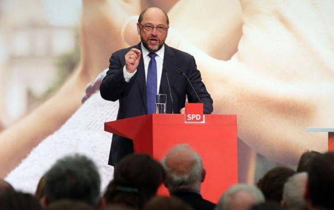Кандидат на посаду канцлера ФРН Шульц обіцяє боротися з популізмом