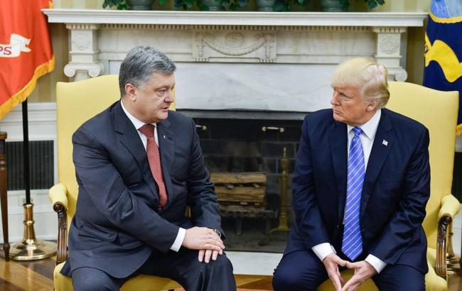 Фото: Петро Порошенко і Дональд Трамп (facebook.com/petroporoshenko)