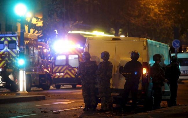 Фото: теракты в Париже
