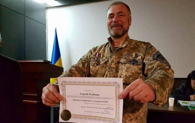 Фото: Боец АТО Сергей Олейник (facebook.com/yuriy.bogunshchyrin)
