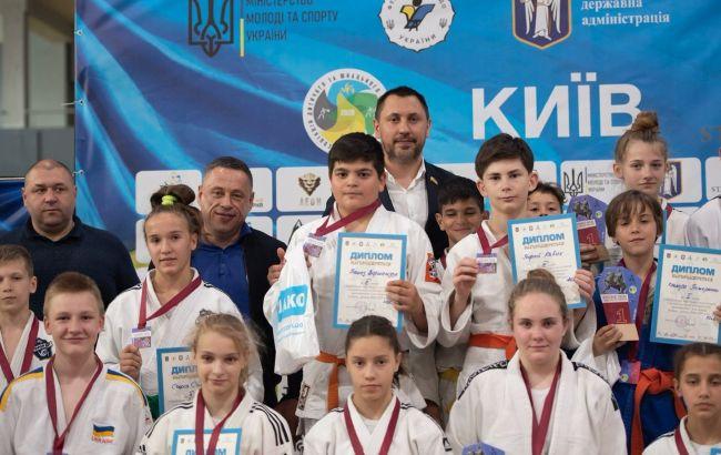 Андрей Стрихарский организовал детский турнир по дзюдо в Киеве