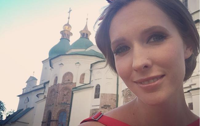 """""""Осень в Киеве"""": Катя Осадчая показала свою прогулку по центру столицы"""