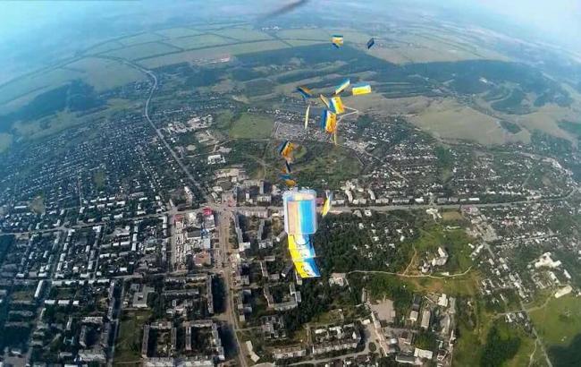 Фото: Листівки над Первомайському (facebook.com/ualuga)