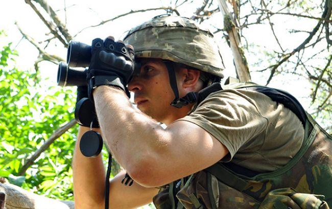 За добу на Донбасі бойовики 22 обстріляли позиції ЗСУ, - штаб АТО