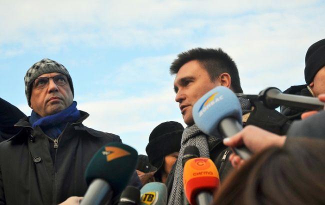 Фото: Анджелино Альфано и Павел Климкин (mariupolrada.gov.ua)
