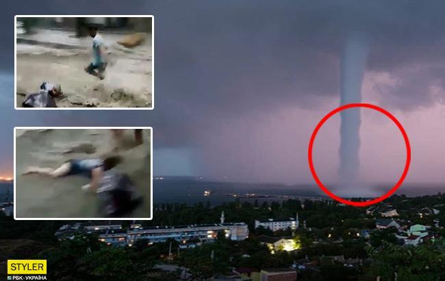 Ялта ушла под воду: в оккупированном Крыму бушевала стихия
