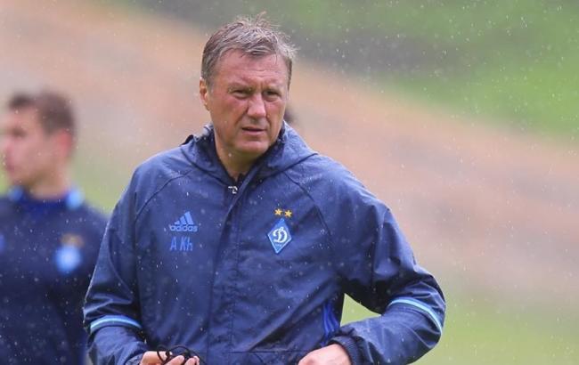"""У """"Динамо"""" вже є розуміння футболу, який потрібен, - Хацкевич"""