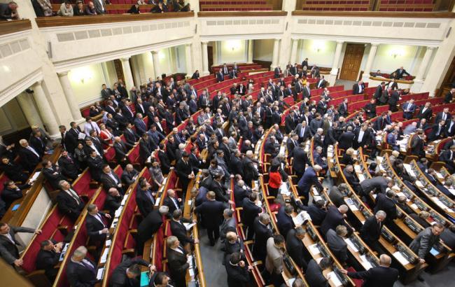 Рада небудет проводить пленарное совещание всреду