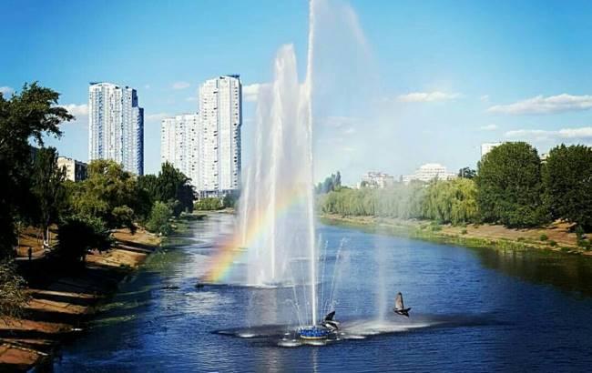 В Киеве отправляют на отдых фонтаны