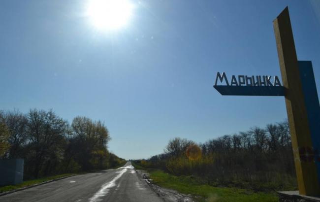 Боевики обстреляли частные дома Марьинки