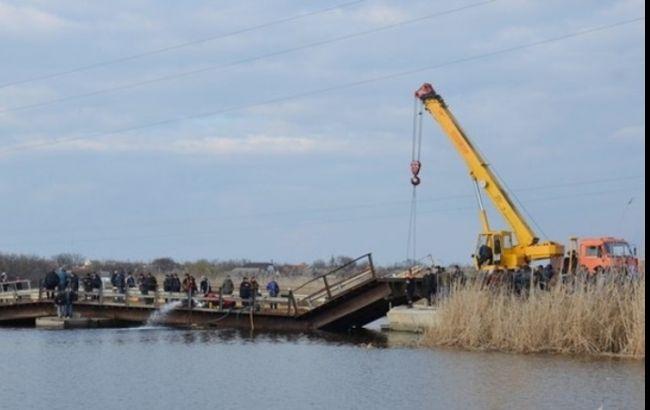 Фото: понтонный мост под Николаевом