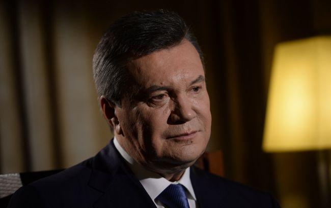 Фото: Виктор Янукович открещивается от счетов за рубежом