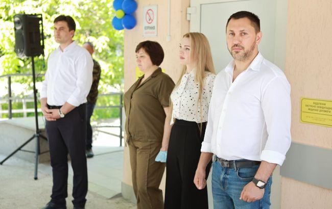 Стрихарский: в Корсунь-Шевченковске открыто новое приемное отделение экстренной медицинской помощи