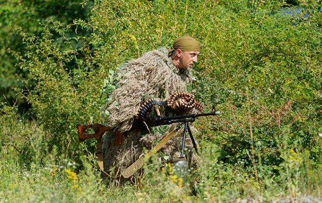 За сутки боевики на Донбассе 22 раза нарушили режим перемирия, - штаб АТО