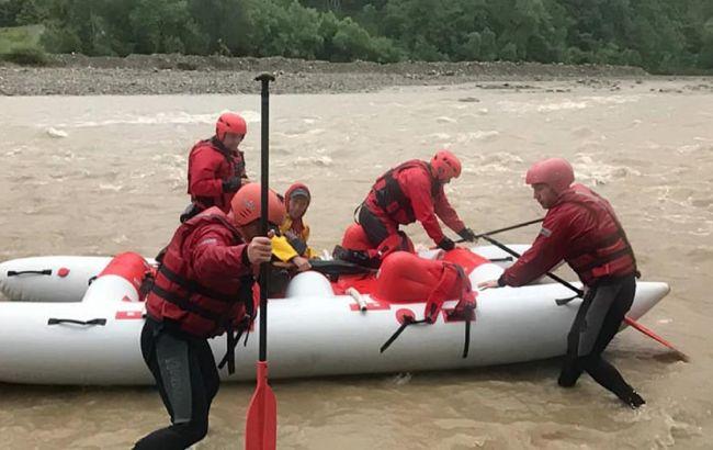 Знайдено тіло хлопчика, якого понесло течією річки на Прикарпатті