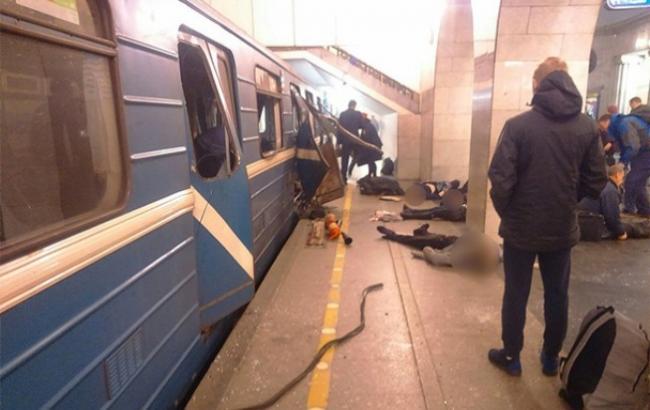Фото: Взрывы в метро