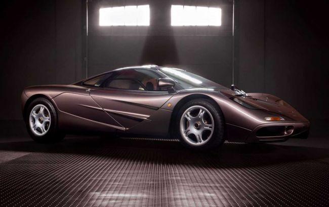 Легендарный суперкар McLaren F1 продан на аукционе за рекордную сумму