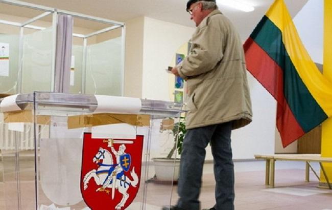 Фото: вибори в Литві 2016