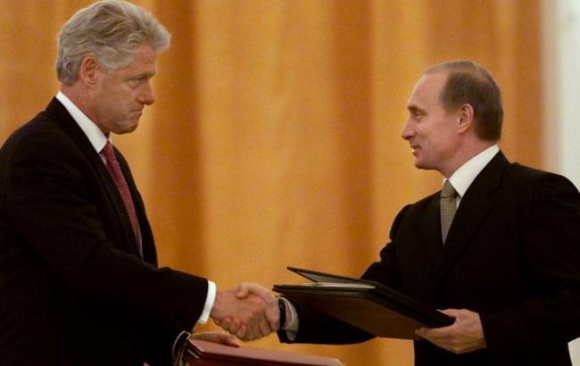 Путін пропонував Клінтону вступ РФ у НАТО