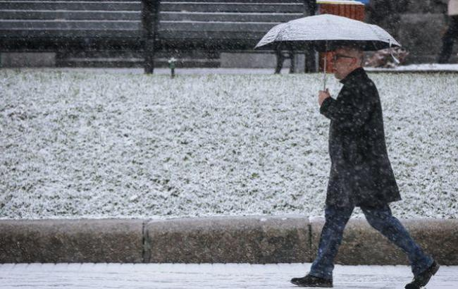 Фото: Снег на улице (nv.ua)