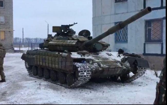 Фото: танки ВСУ в Авдеевке