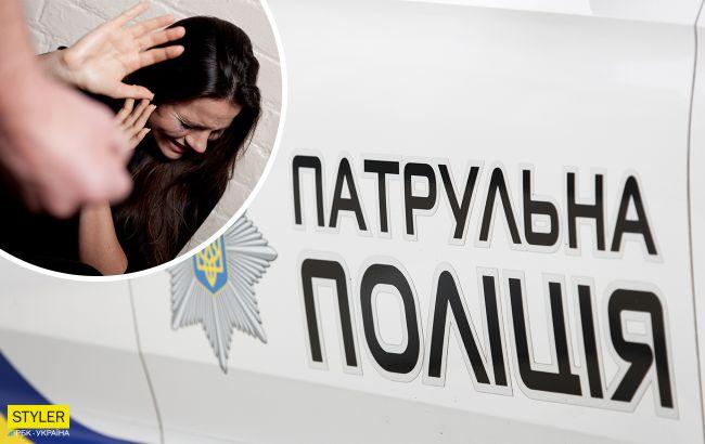 В Киеве грабитель напал на женщину с ребенком среди бела дня: бил по голове