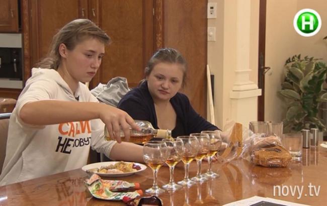 """Фото: Шоу """"Від пацанки до панянки"""" (ledi.novy.tv)"""
