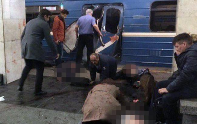 Вибух в метро Санкт-Петербурга: постраждали близько 50 осіб