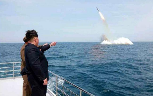 У КНДР повідомили про запуск з підводного човна балістичної ракети