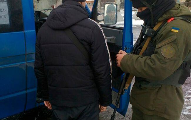 Фото: момент задержания террориста