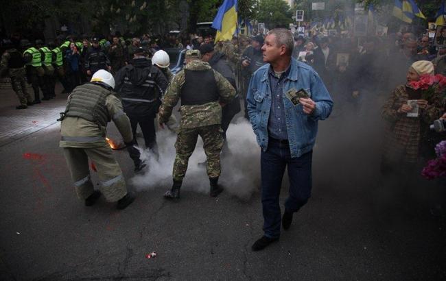 В офісі ОУН у Києві затримали 24 людини
