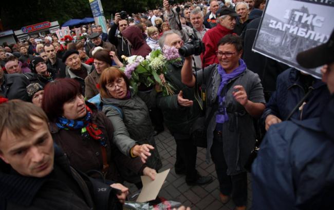 ВМВД сказали количество задержанных вгосударстве Украина намероприятиях к9мая