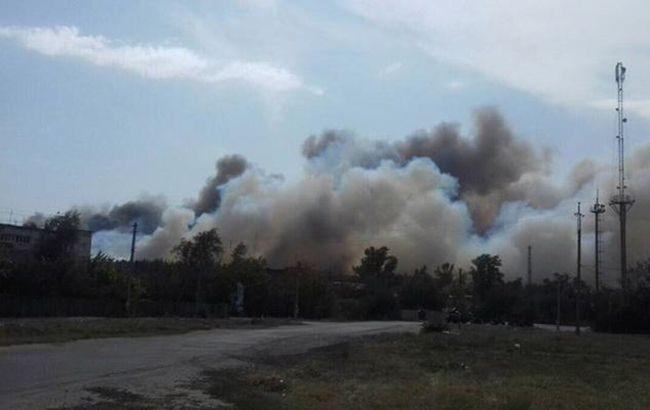 В Харьковской области ликвидировали пожар, во время тушения которого упал вертолет