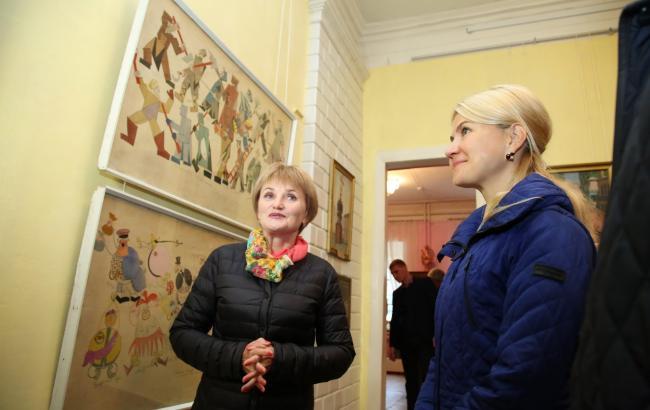 Благодаря Светличной в Харьковской области переданный в залог музей с картинами Пикассо и Малевича вернули громаде