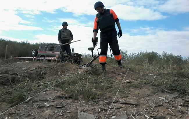 Фото: саперы обнаружили более 57 тыс. боеприпасов