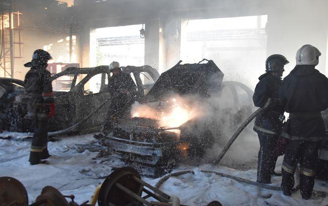 В Одессе произошел пожар на заводе
