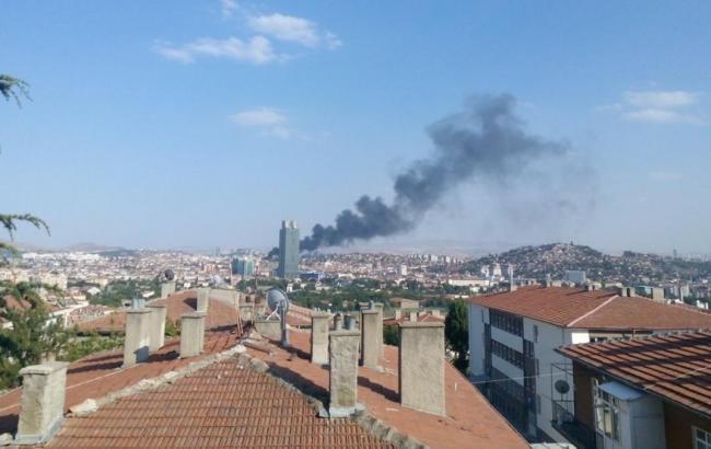 Фото: вибух в Анкарі