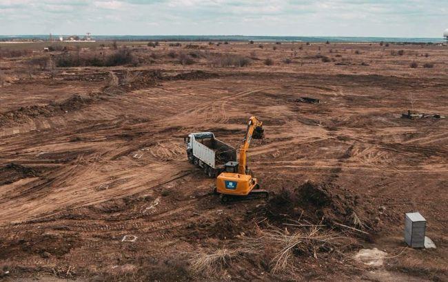 В Днепре так и не началось строительство нового аэропорта: фото
