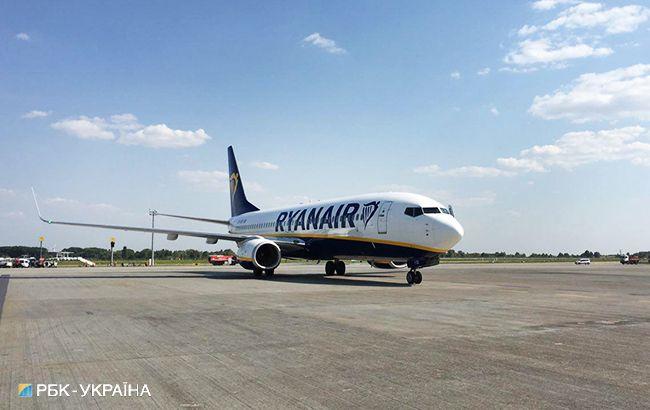 В Україні Ryanair скасовує рейси до Польщі та Іспанії
