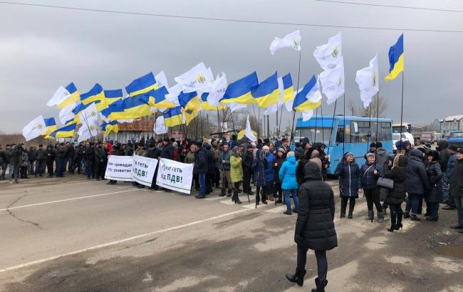 В Ровенской области с 10:00 перекроют трассу Киев-Чоп