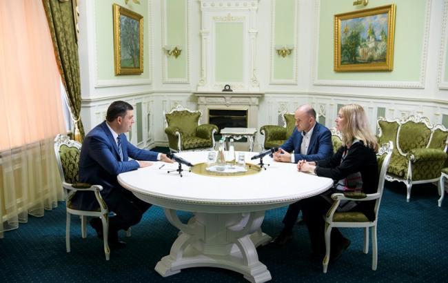 Фото: зустріч Гроймана, Лінчевського та Супрун (kmu.gov.ua)