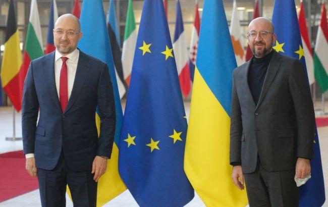 Шмыгаль и президент Евросовета обсудили ассоциацию Украины с ЕС