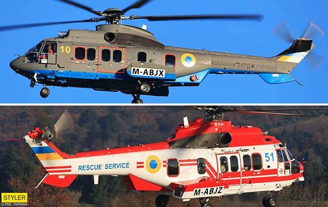 Появились фото французских вертолетов для ГСЧС и Нацгвардии