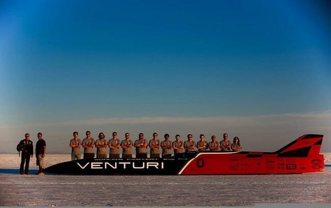 Фото:  электромобиль VBB-3
