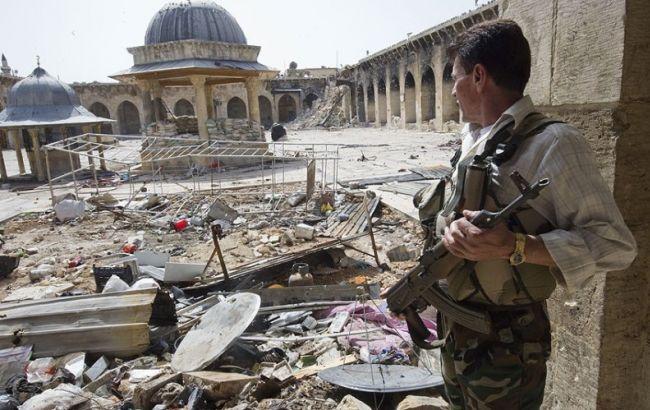 Фото: руїни Алеппо