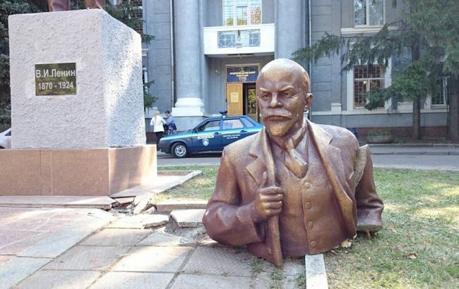Фото: Пам'ятник Леніну (nahnews.org)